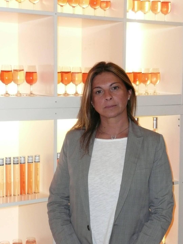 Fabienne Joly, présidente du Centre mondial du rosé et secrétaire générale de la Chambre d'agriculture du Var