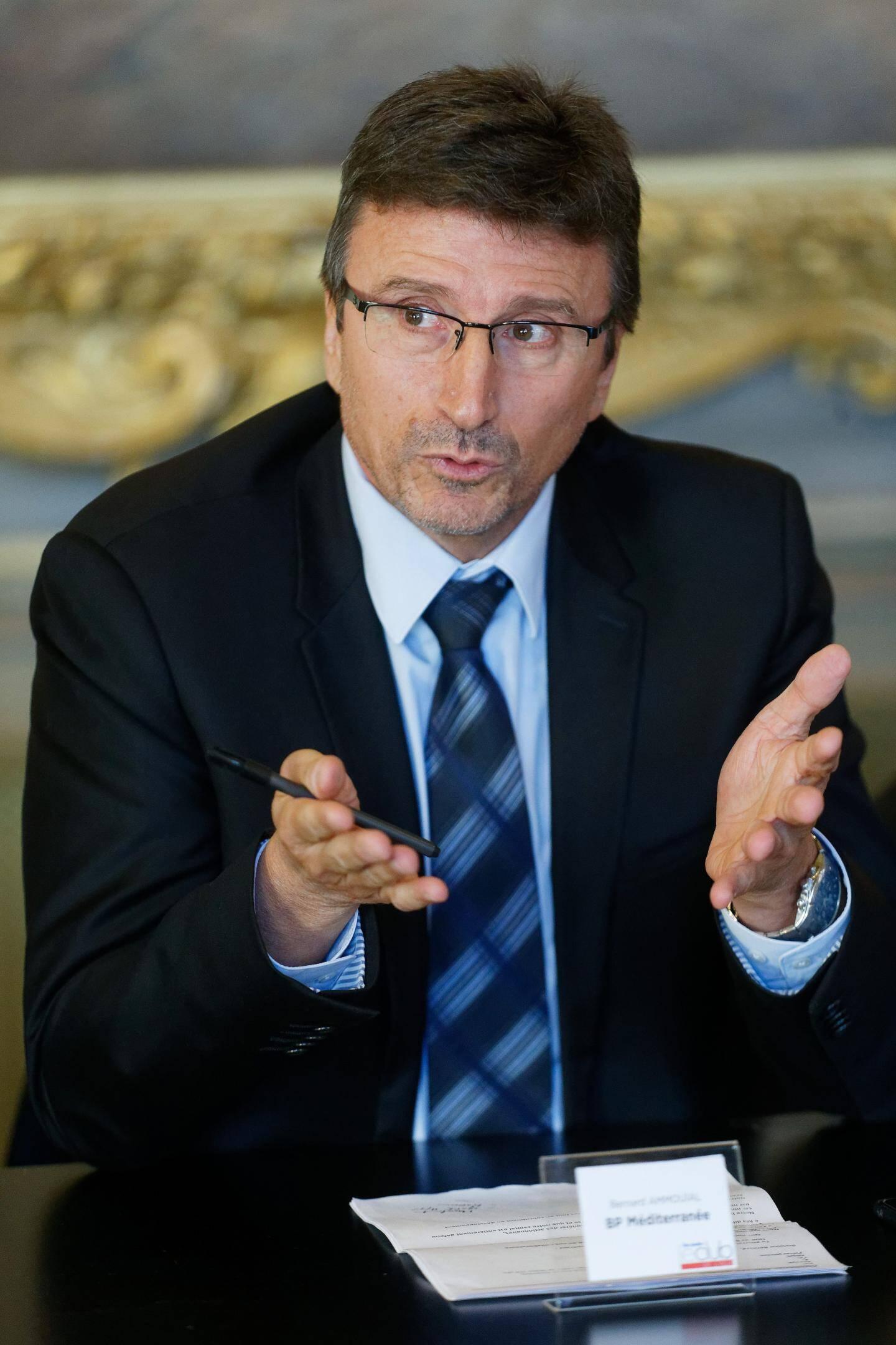 Bernard Ammouial, directeur de la région chez Banque populaire Méditerranée.