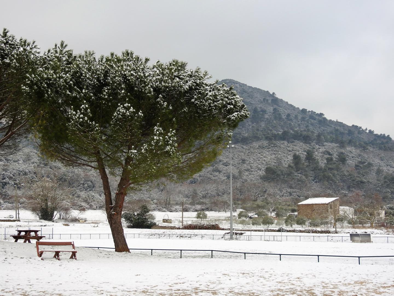 Le stade de Rougiers.