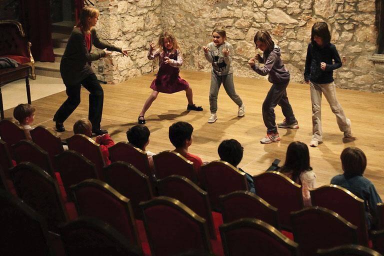 Atelier arts dramatiques au théâtre des muses