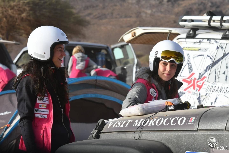 Pauline Ducruet et Schanel Bakkouche pointent à la 81e place (sur 147 concurrentes).