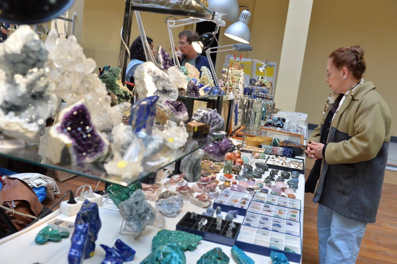 Minéraux, fossiles, cristaux..., ce salon fera le bonheur des aficionados