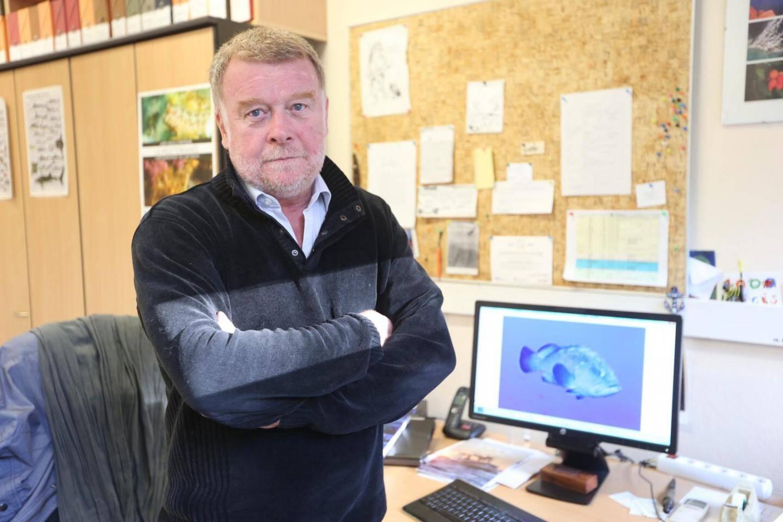 Patrice Francour, chercheur au CNRS, et fondateur du groupe d'étude du mérou.