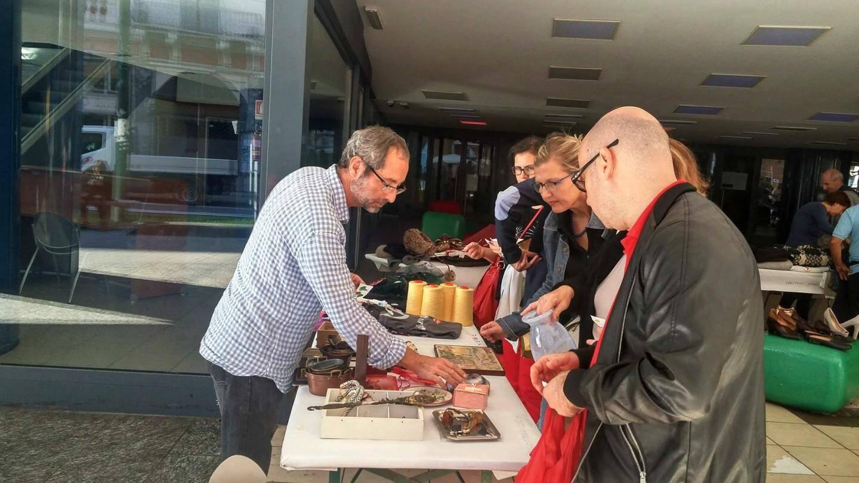 Chaque année en octobre, un marché du troc est organisé à San Remo.
