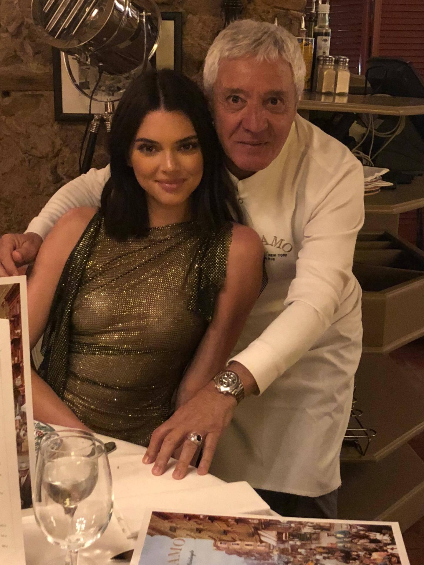 Kendall Jenner et Mamo.