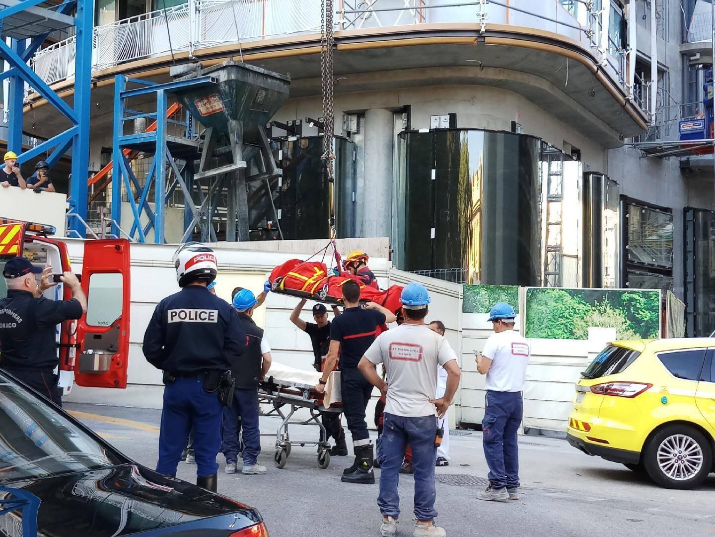 La victime a été transporté en urgence à l'hôpital Pasteur de Nice.