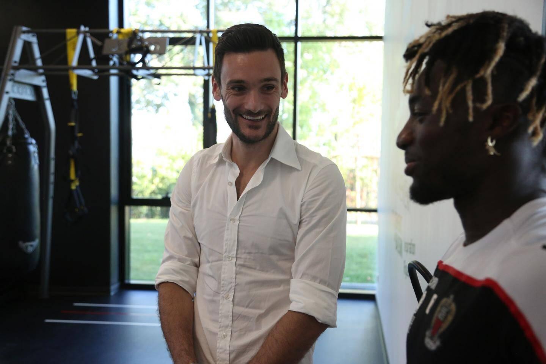 Hugo Lloris a évoqué le potentiel d'Allan Saint-Maximin avec Patrick Vieira.