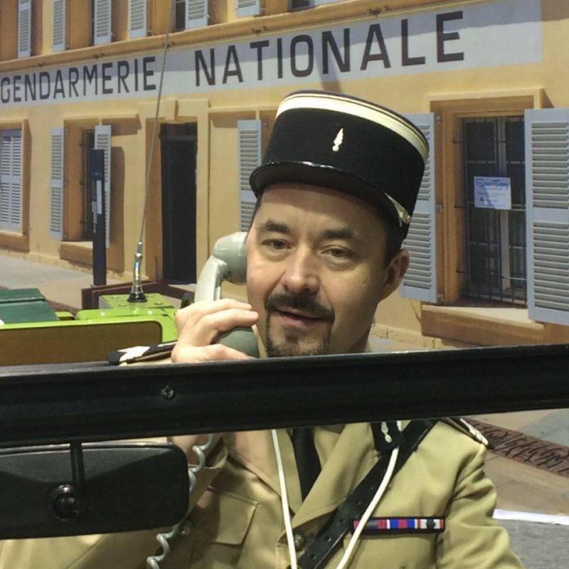 Le gendarme réserviste Grenier fera aussi son cinéma !