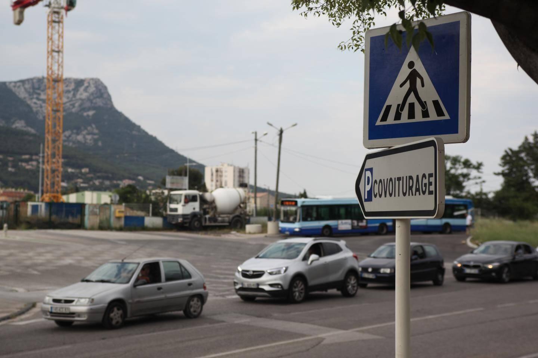 Le parking relais de Sainte-Musse à Toulon est de plus en plus fréquenté par les habitants de la métropole.