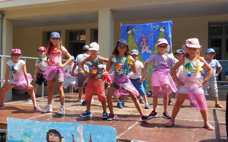 Les primaires du centre de loisirs des Moulins ont monté un spectacle autour des personnages de Walt Disney.