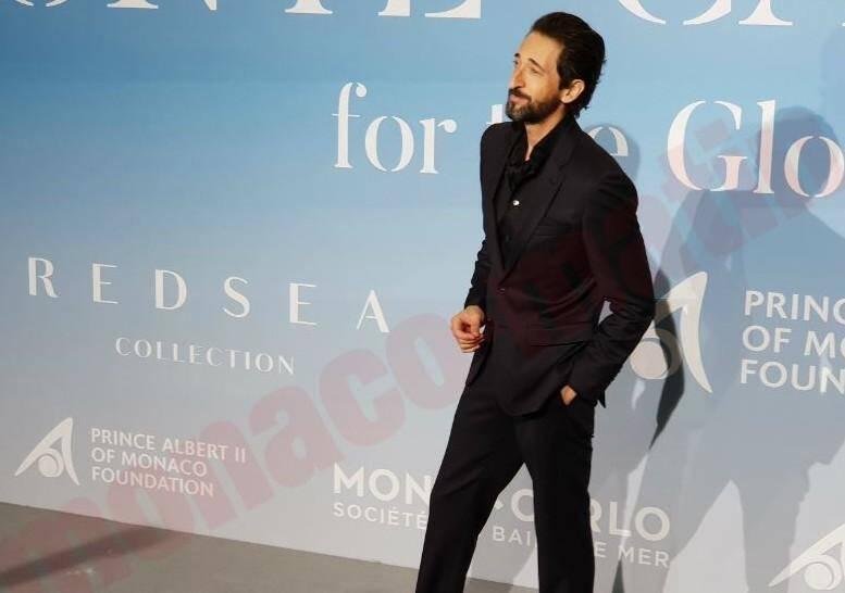 L'acteur Adrien Brody.