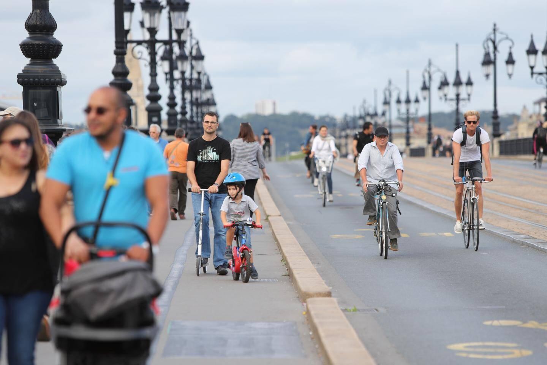 En 4 ans, la métropole de Bordeaux a multiplié par deux le nombre de kilomètres cyclables sécurisés.