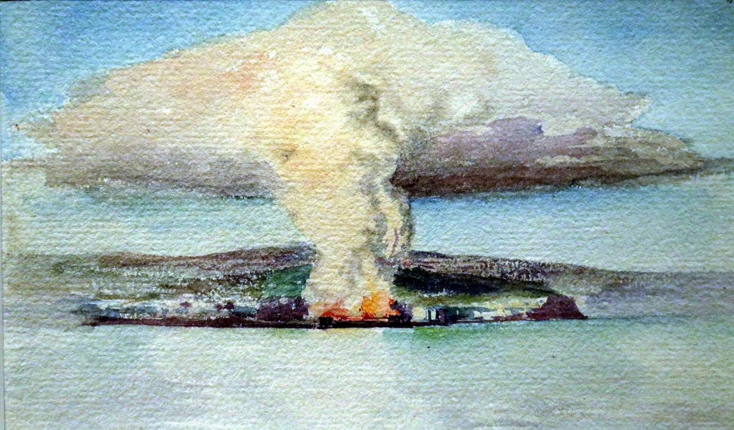 Il avait brûlé en 1883, quelques jours avant son inauguration.