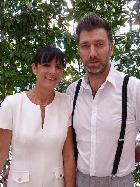 Isabelle Jarraud, employée de banque, et Ludovic Mauriat, photographe.