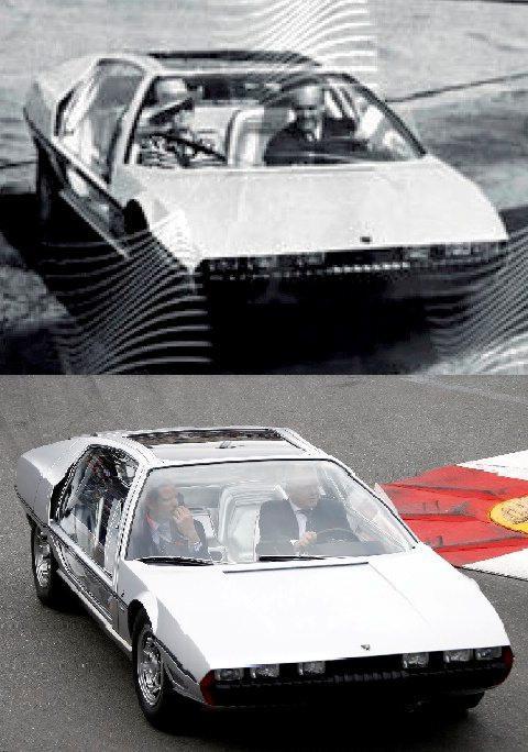 13 mai : même voiture, même angle, mais 51 ans séparent ces deux photos.