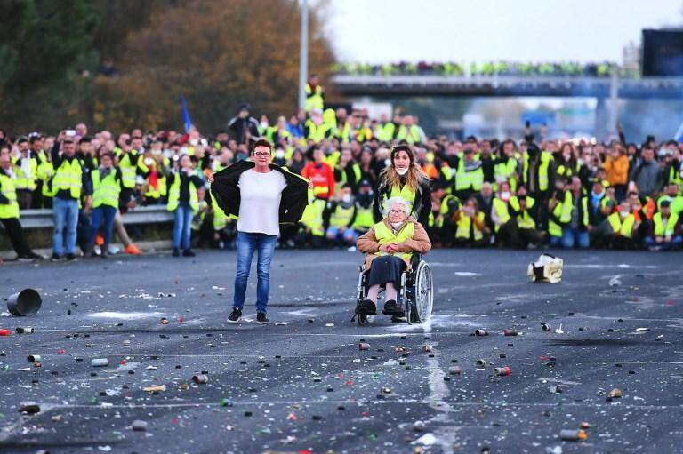 La première manifestation des Gilets jaunes a eu lieu le 17 novembre dernier.