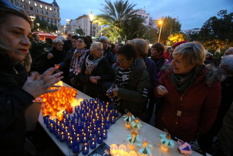 Fête des lumières à Nice.