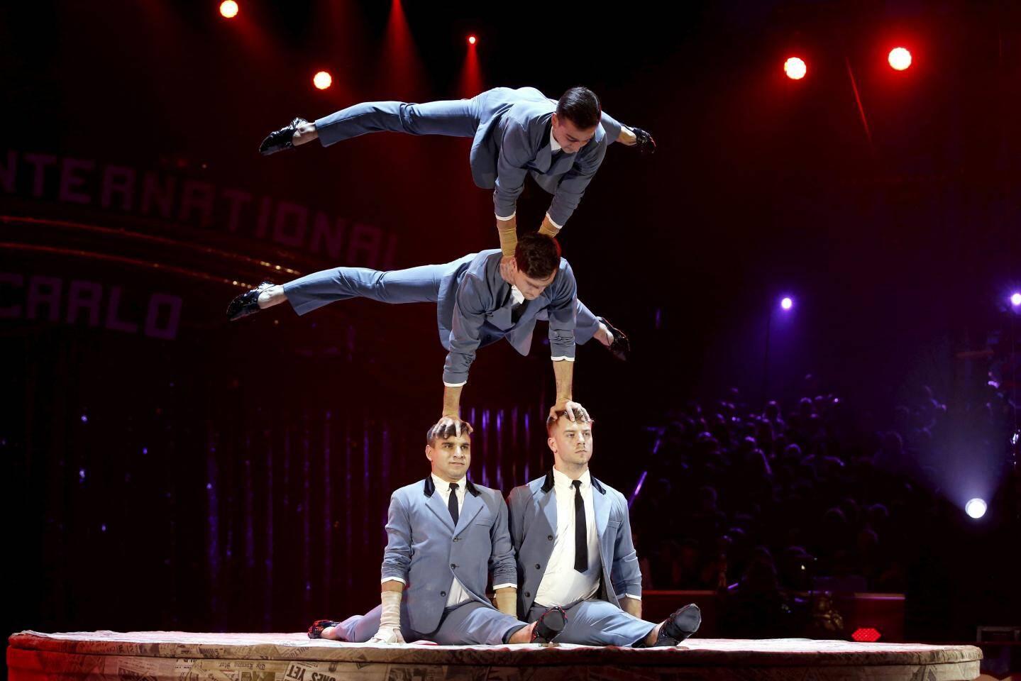 Acrobates voltigeurs, le quatuor Prilepin est clown de bronze.