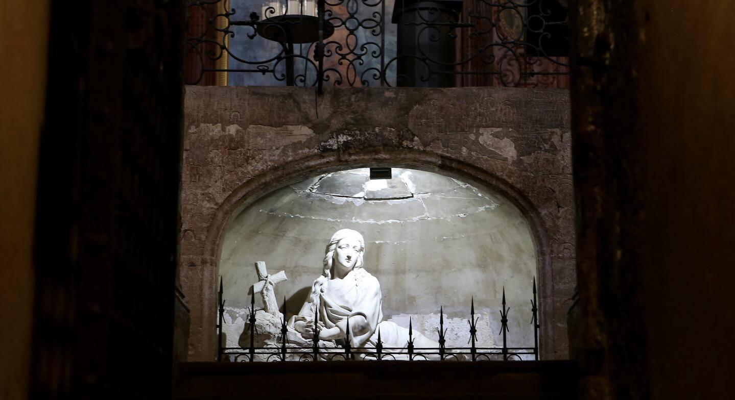 Au cœur de la basilique.