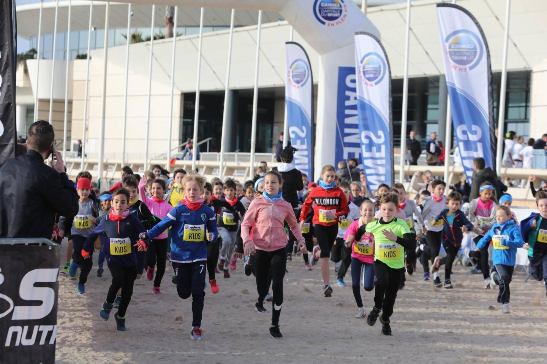 Première édition du Kids Urbal Trail pour les 7-11 ans avec près de 90 enfants qui ont couru les 1 000 mètres proposés.