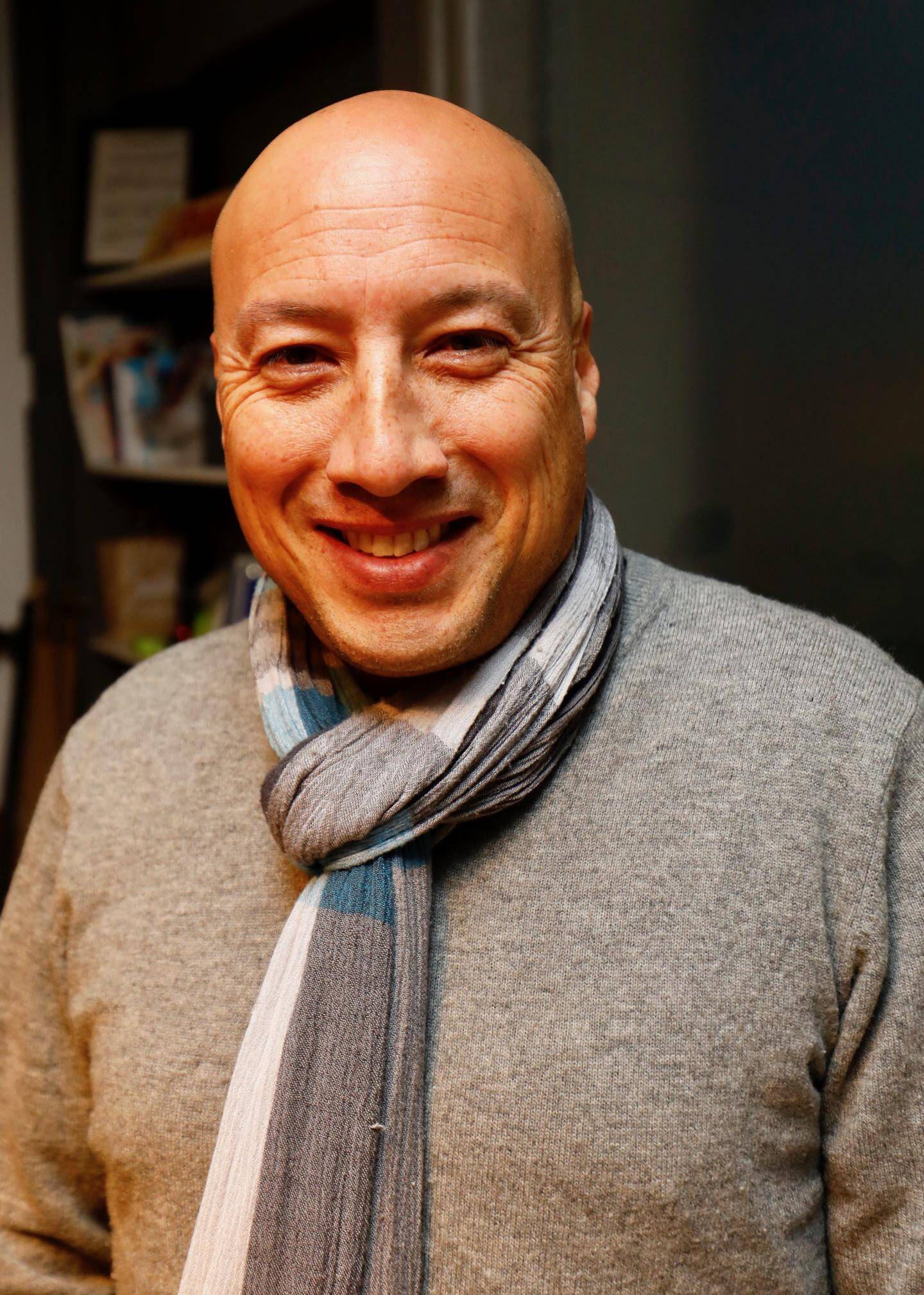 Frédéric Audineau, gérant de l'auto-école Stanislas à Cannes.