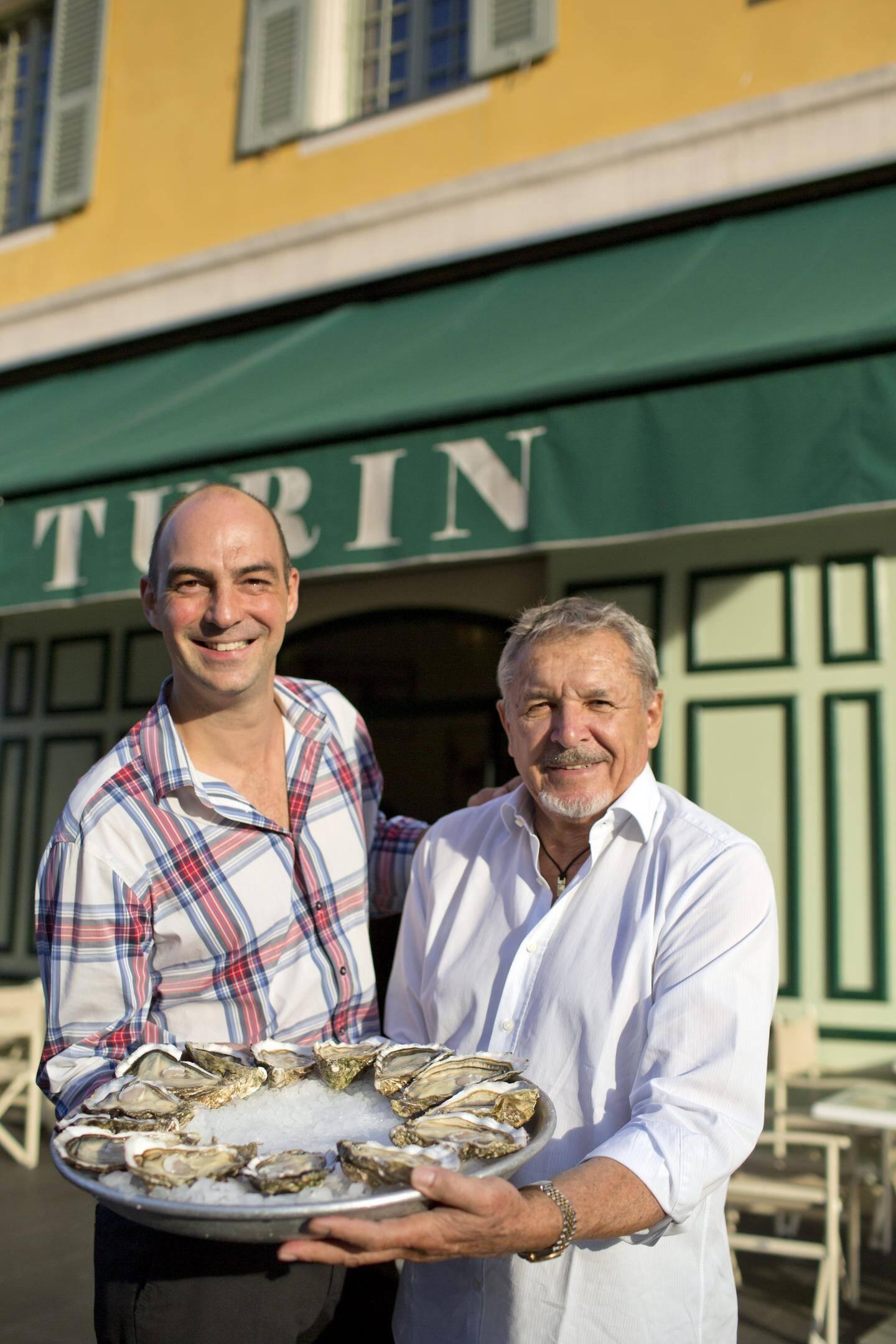 Alexandre Chazal et Jean Roumégous du Café de Turin.(DR)