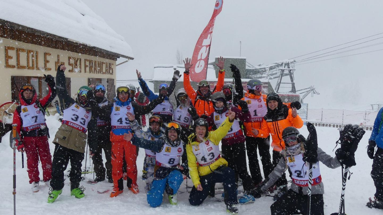 À Auron, tout le monde avait le sourire, hier : les skieurs, les commerçants, les loueurs, les hôteliers.
