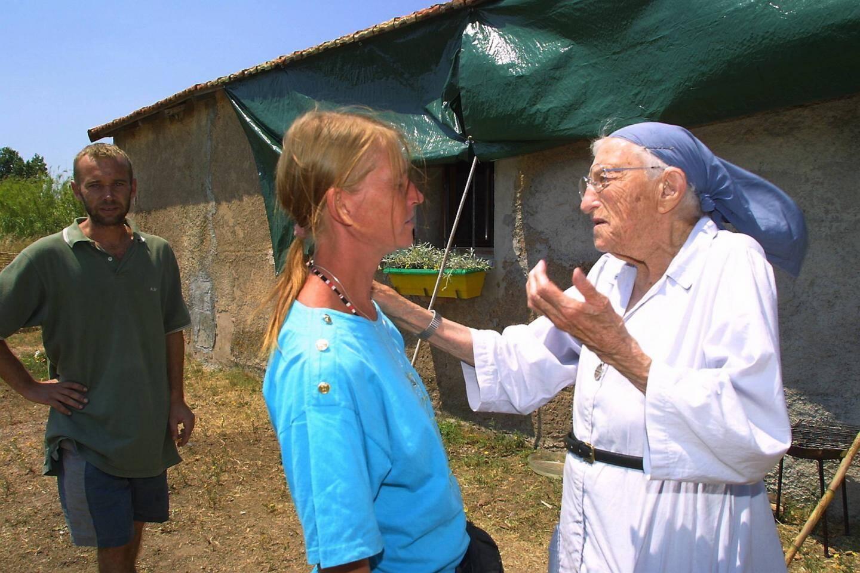 Sœur Emmanuelle écoutait et encourageait beaucoup les SDF. Ici à la ferme des Esclamandes, aujourd'hui fermée.