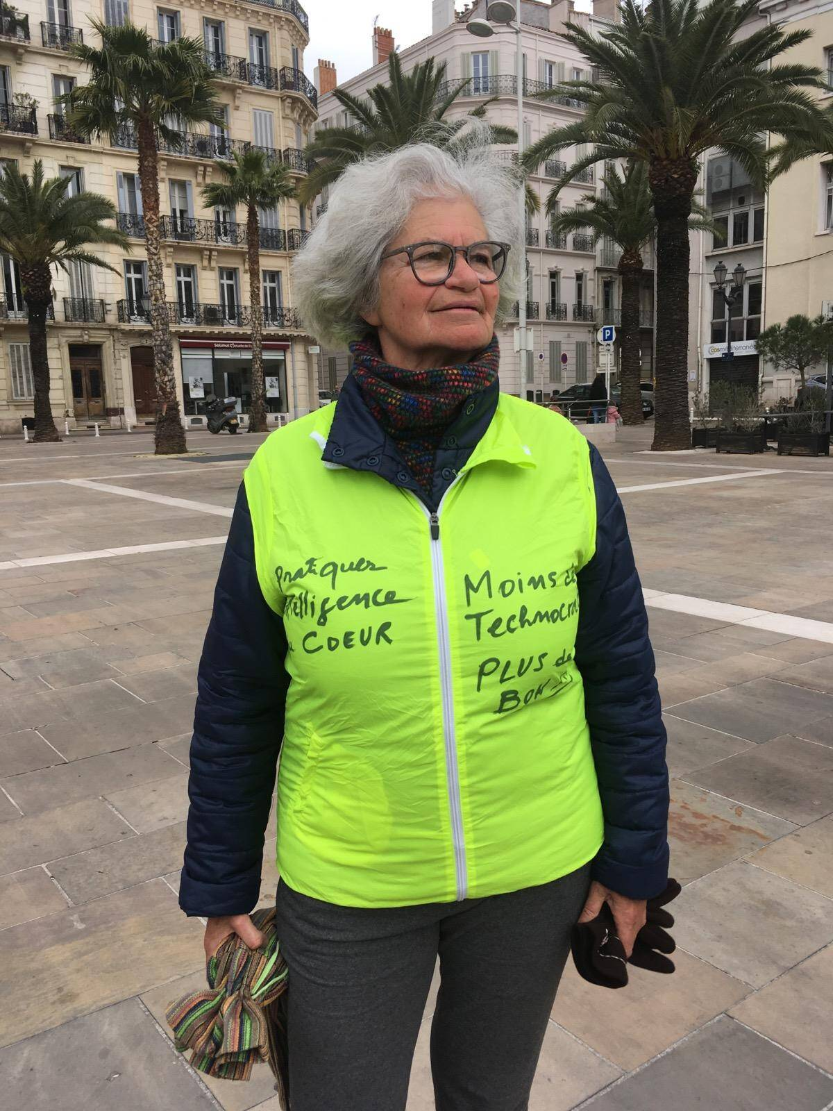 Martine, 72 ans, entend continuer à se « battre pour ses enfants et petits-enfants pour moins de technocratie et plus de bon sens ».