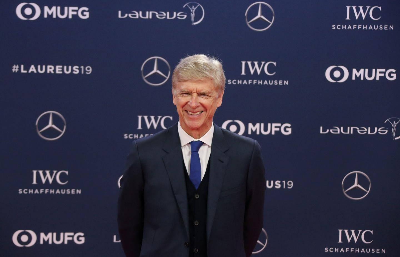 Arsène Wenger a été honoré pour l'ensemble de sa carrière.