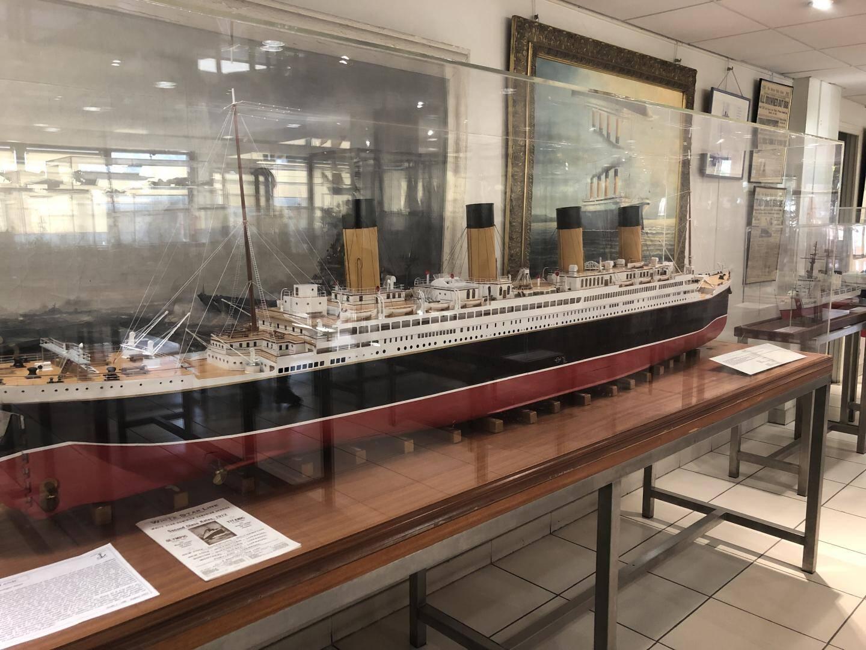 La maquette du très célèbre Titanic, long de 169 mètres.