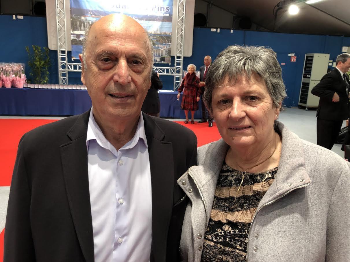 Marcel et Michelle Pretazzini.