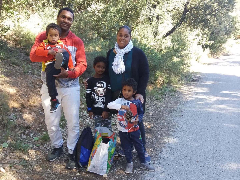 Les familles ont participé au pèlerinage qui leur est consacré.