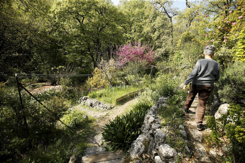 Ici, la nature a des droits et Lysiane la laisse s'épanouir à sa guise. Son jardin est si particulier qu'il a été sélectionné par France 2 en 2014 pour participer à l'émission « Le jardin préféré des Français. »