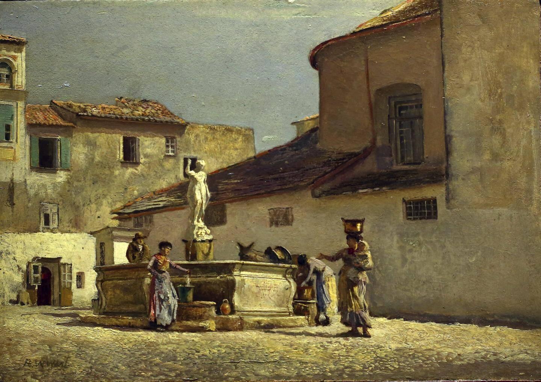 Sont aussi exposés des tableaux représentant Bordighera à l'époque où Monet vient.