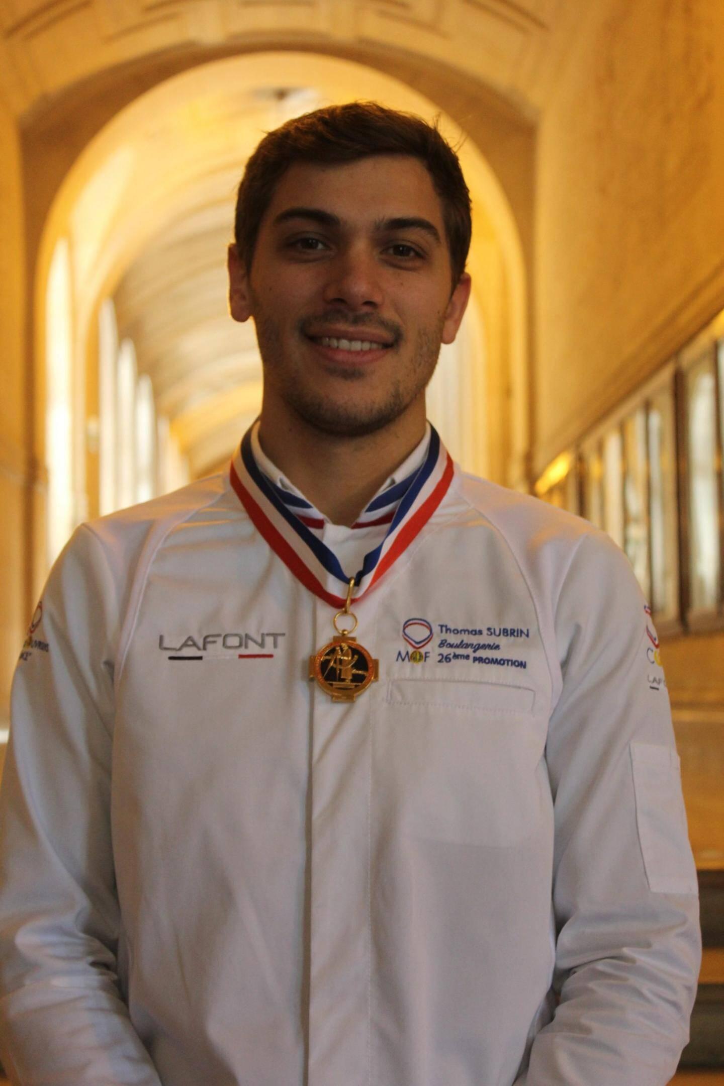 Thomas Subrin, boulanger à la Société des Bains de Mer à Monte-Carlo, Mof boulangerie