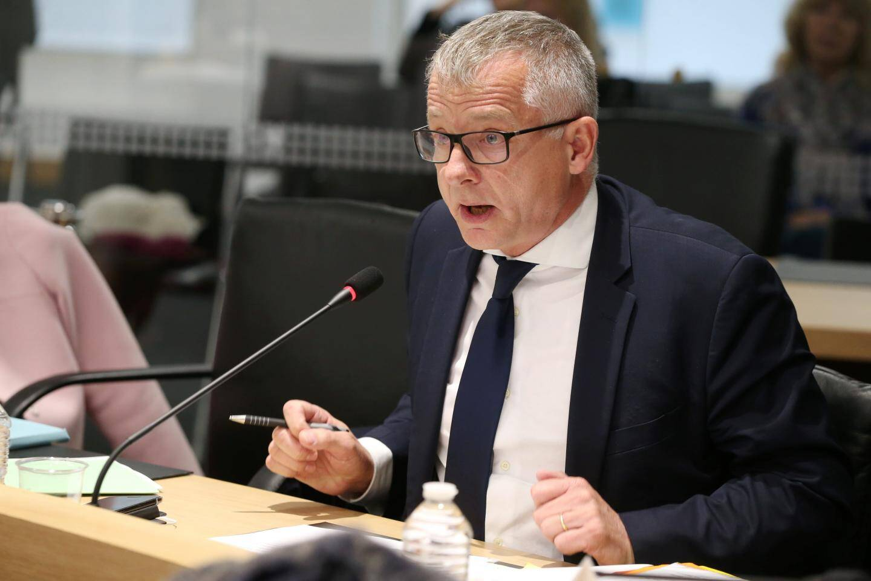 L'élu divers droite Benoît Kandel.