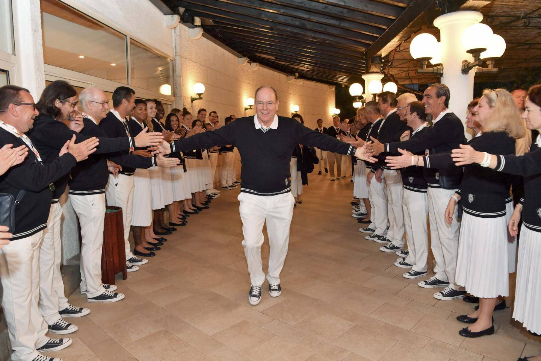 Le souverain a été accueilli par la délégation monégasque, mardi soir au Monténégro.