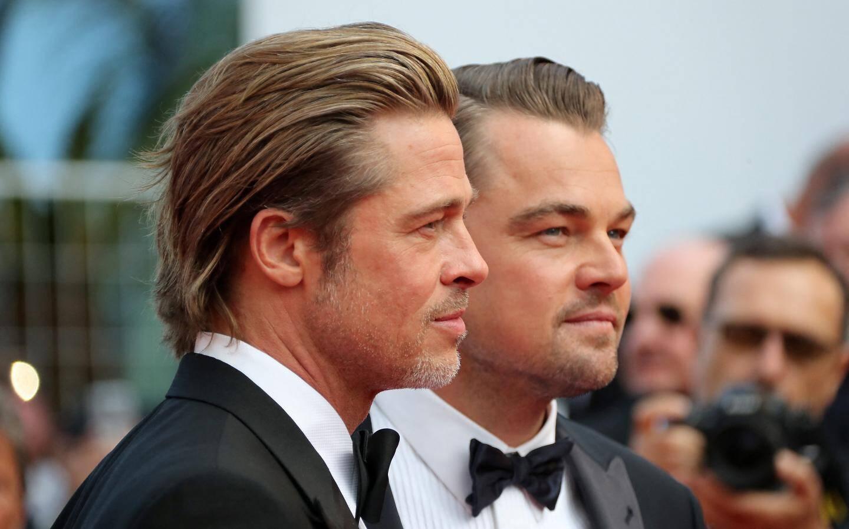 Brad Pitt et Leonardo DiCaprio.