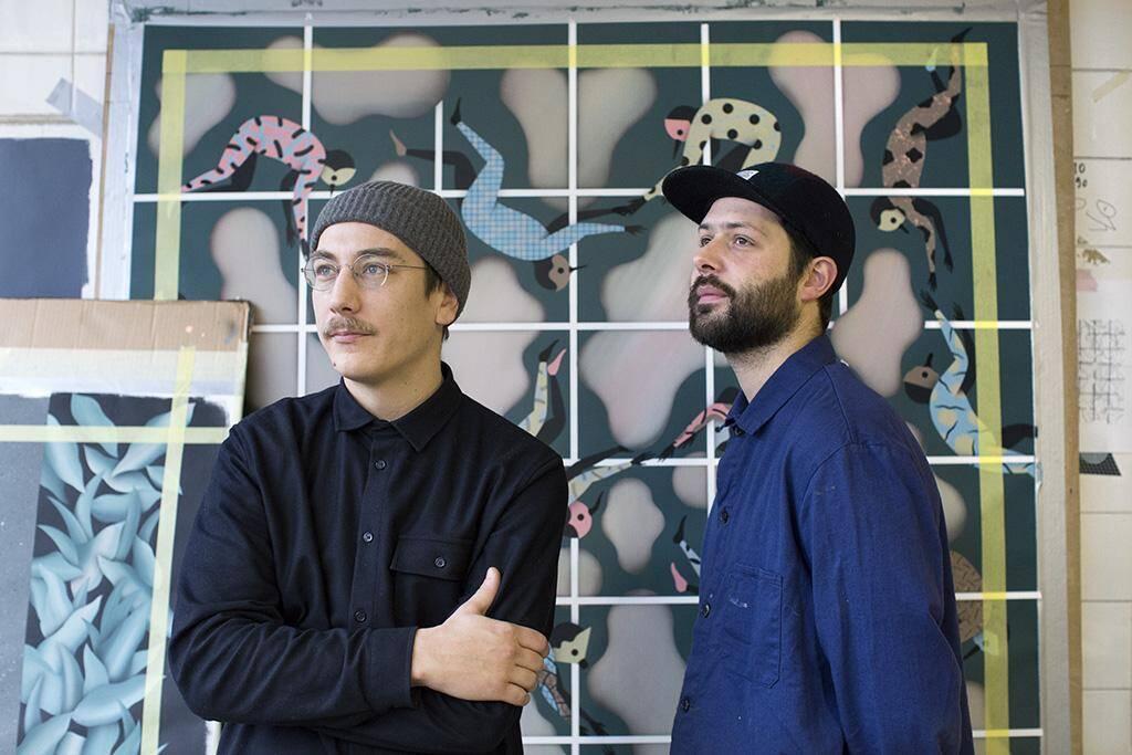 Jérôme Meynen et Antoine Detaille.