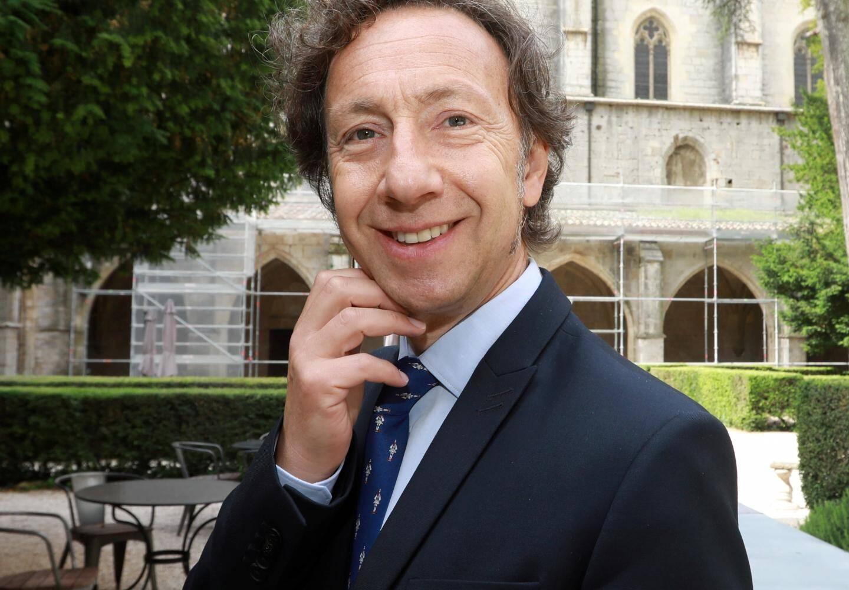 Stéphane Bern, en juin 2018 à Saint-Maximin.