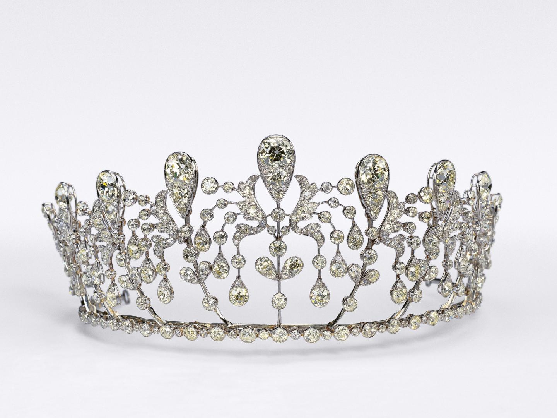 Diadème aux fuchsias de la princesse Hedwige de Bourbon-Parme (1919)