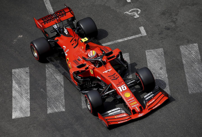 La n°16, ici à Monaco, a mené les débats lors des essais libres hier.