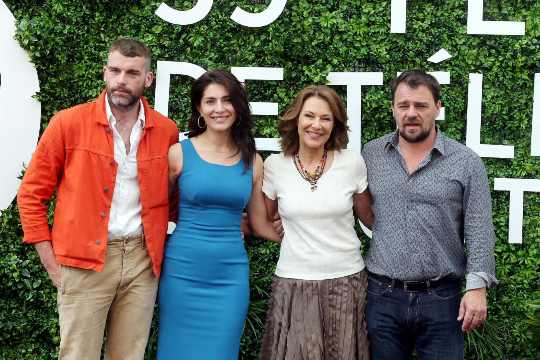 De gauche à droite: Stanley Weber, Caterina Murino, Valeria Cavalli et Thierry Godard.