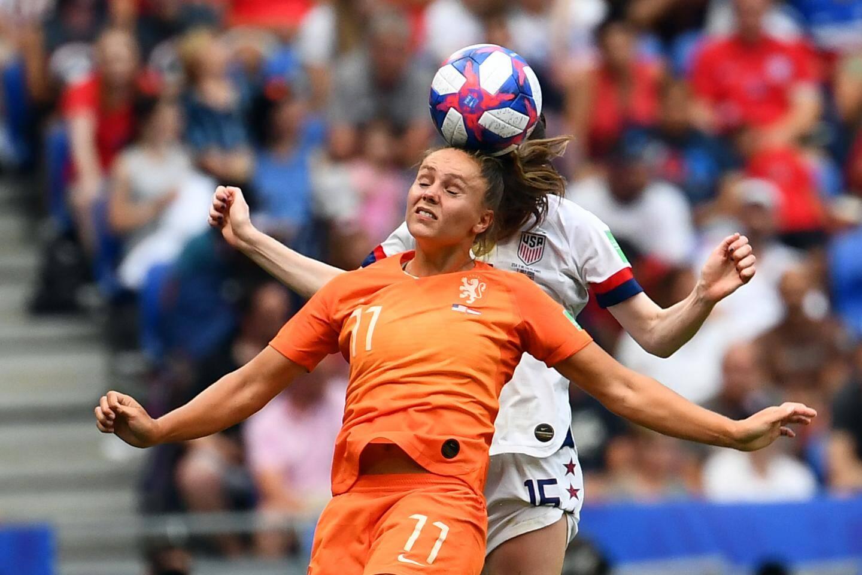 Megan Rapinoe, véritable star de ce Mondial.(AFP)