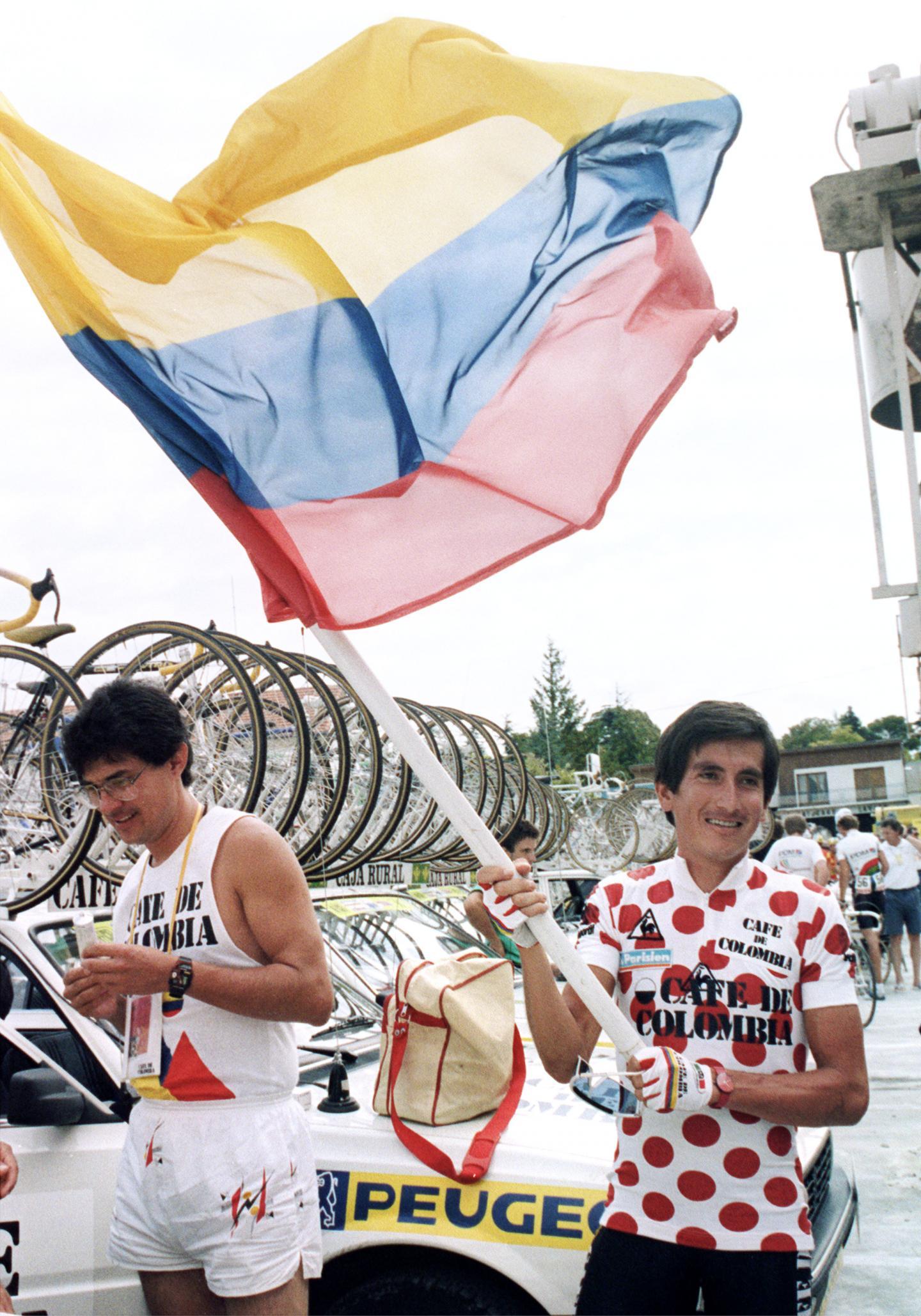 Les Colombiens exultent : ils tiennent leur nouveau héros.