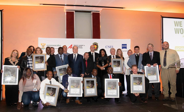 Invité à la cérémonie des awards de la fondation Rhino Conservation, le souverain a salué l'engagement de ceux qui luttent contre le braconnage et le trafic des cornes de rhinocéros.