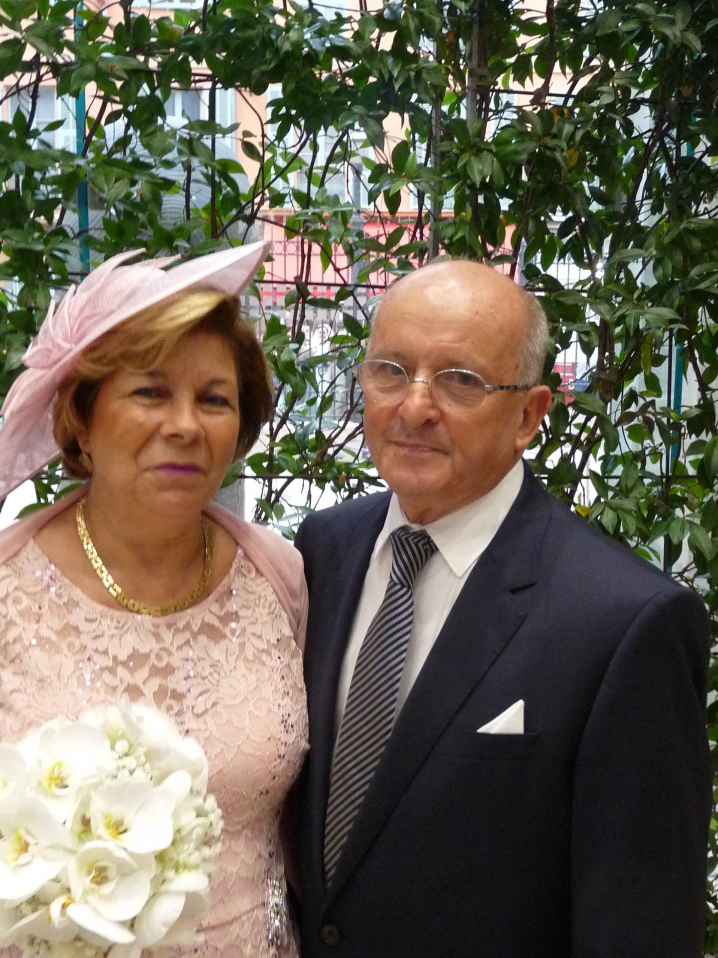 Rachel Piat, aide à domicile, et Jean-Marc Carasco, retraité.