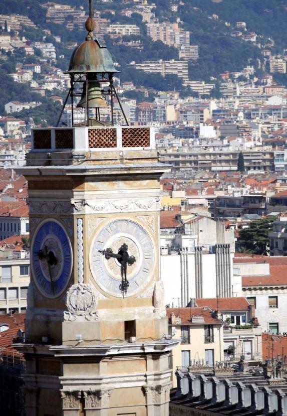 La tour Saint-François à Nice.