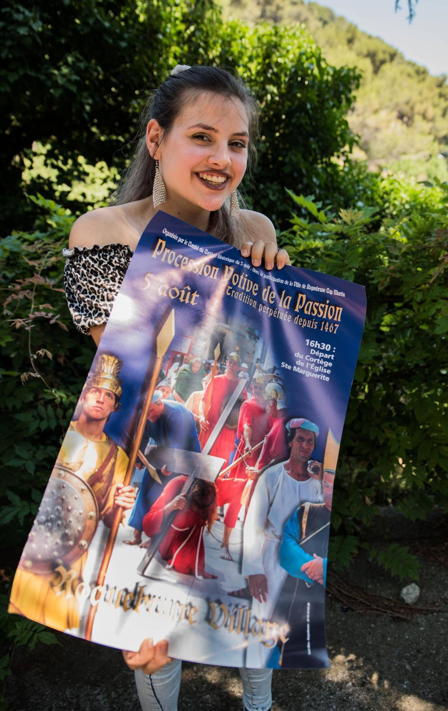 Louise Mozzone est prête pour défiler le 5 août.